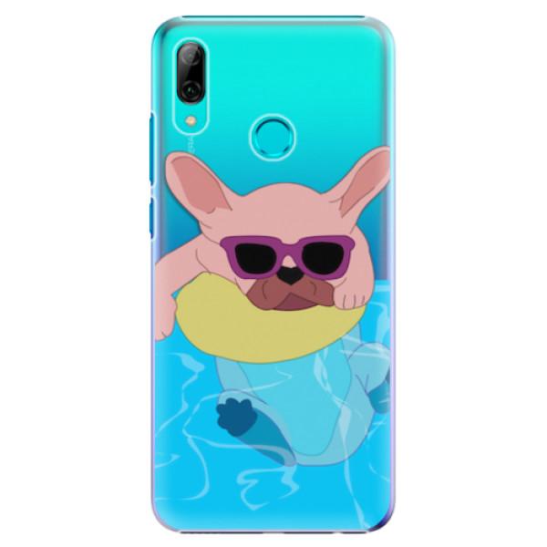Plastové pouzdro iSaprio - Swimming Dog - Huawei P Smart 2019