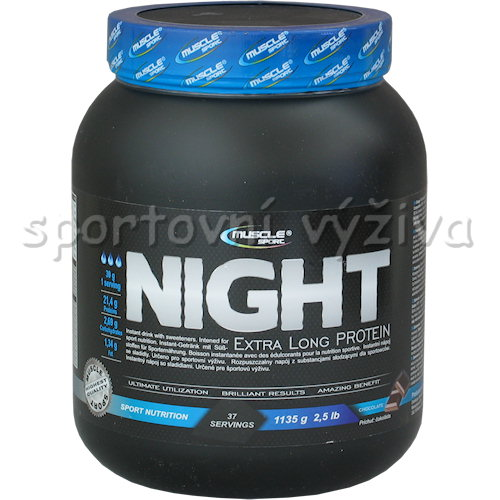 Night Extralong protein - 1135g-jahoda