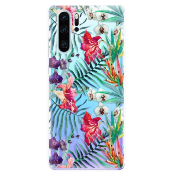 Odolné silikonové pouzdro iSaprio - Flower Pattern 03 - Huawei P30 Pro