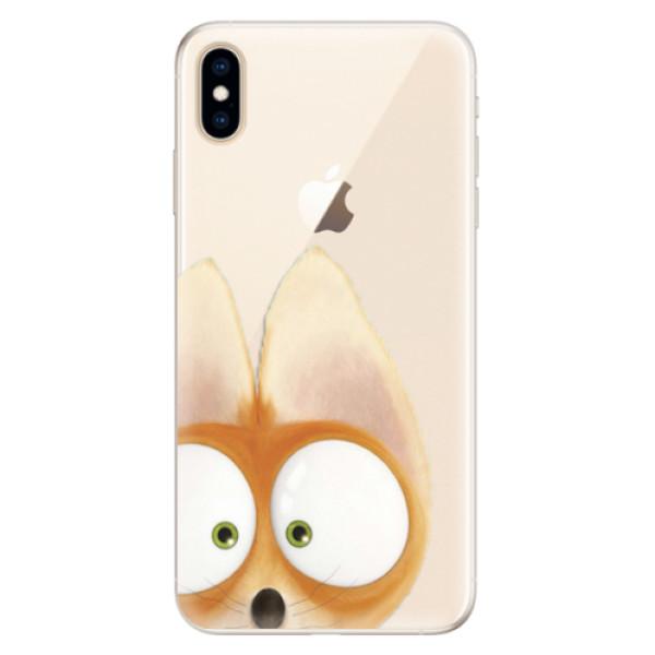 Silikonové pouzdro iSaprio - Fox 02 - iPhone XS Max