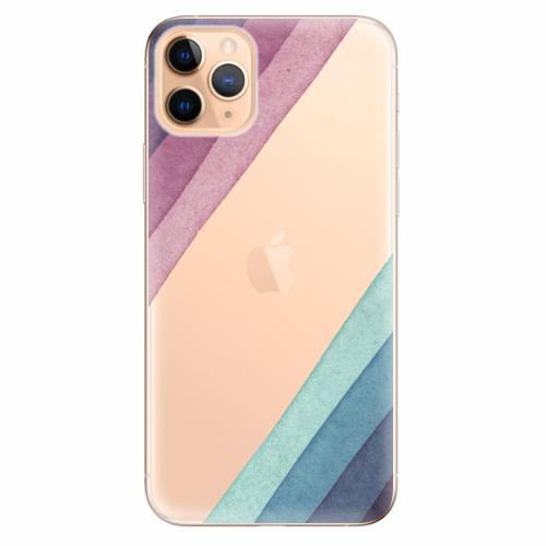 Silikonové pouzdro iSaprio - Glitter Stripes 01 - iPhone 11 Pro Max
