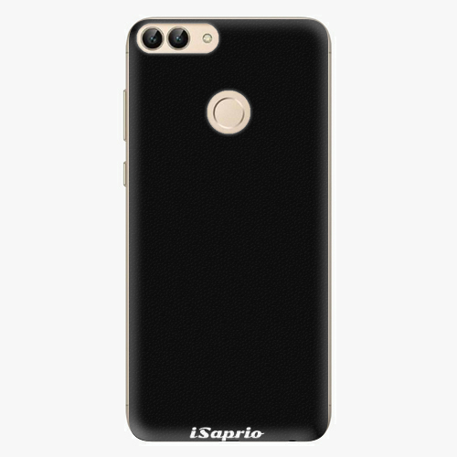 Silikonové pouzdro iSaprio - 4Pure - černý - Huawei P Smart