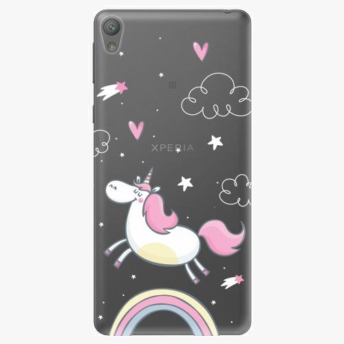 Plastový kryt iSaprio - Unicorn 01 - Sony Xperia E5