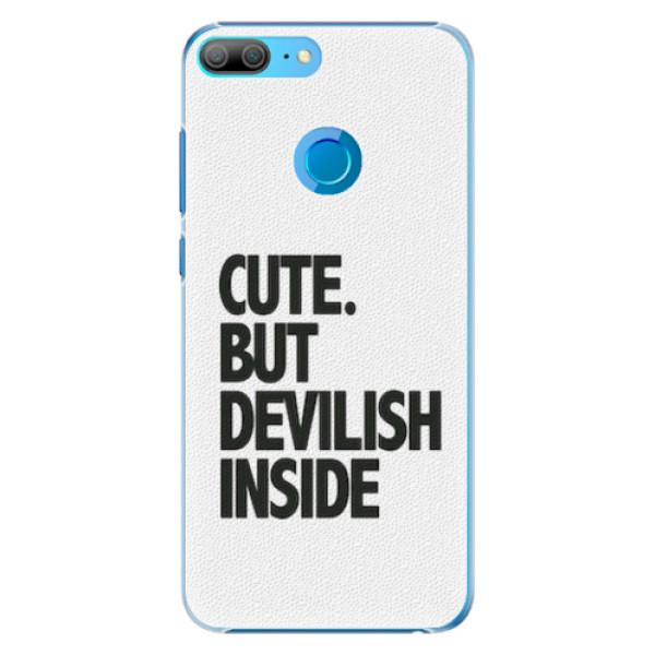 Plastové pouzdro iSaprio - Devilish inside - Huawei Honor 9 Lite