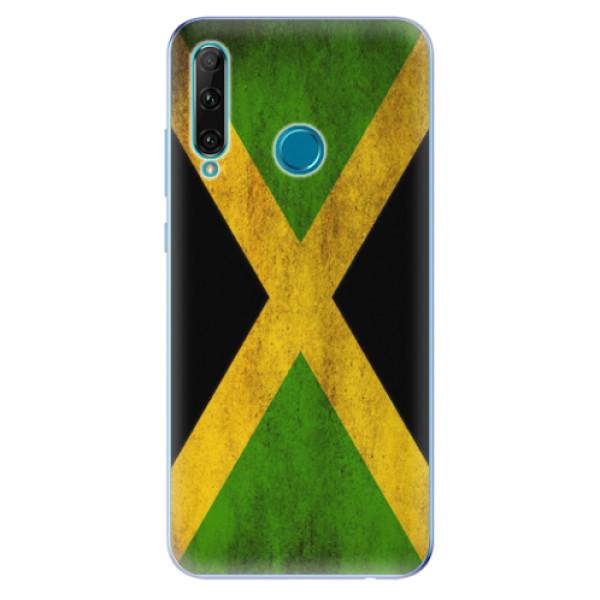 Odolné silikonové pouzdro iSaprio - Flag of Jamaica - Honor 20e