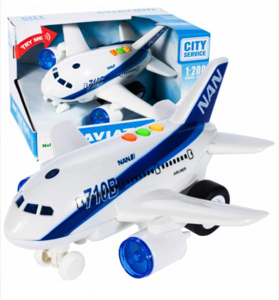 Tulimi Interaktivní letadlo Airbus skala 1:200