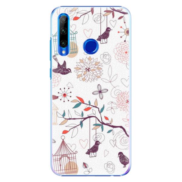 Plastové pouzdro iSaprio - Birds - Huawei Honor 20 Lite