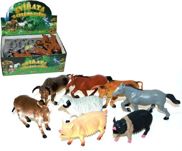 Zvířata domácí (Farma) 12 - 20 cm
