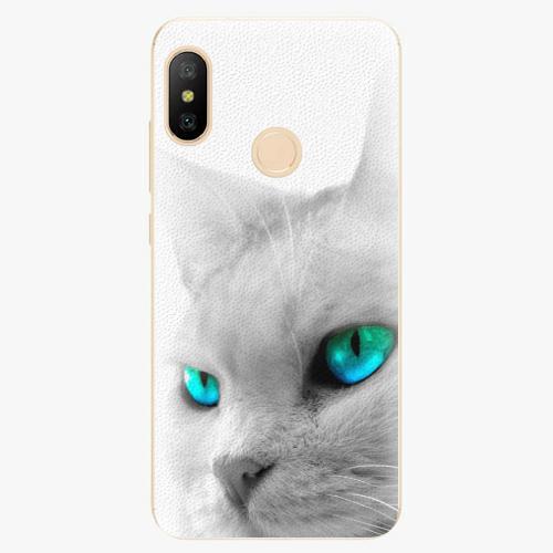 Silikonové pouzdro iSaprio - Cats Eyes - Xiaomi Mi A2 Lite