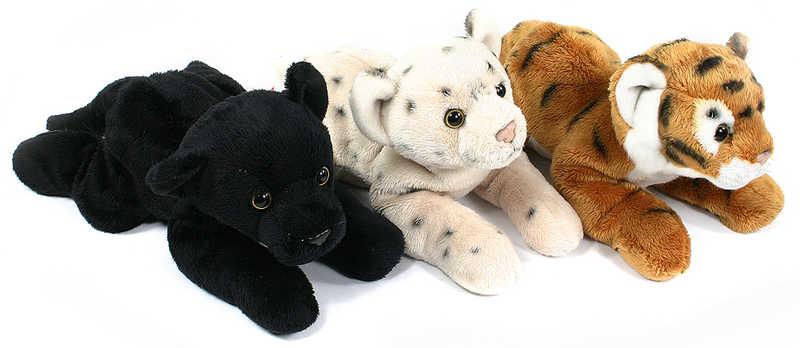 PLYŠ Tygr ležící 20 cm * PLYŠOVÉ HRAČKY *