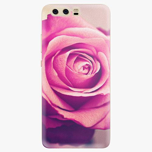 Plastový kryt iSaprio - Pink Rose - Huawei P10