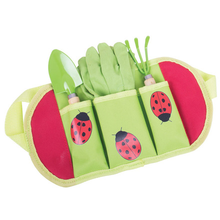 Bigjigs Toys Zahradní nářadí Beruška
