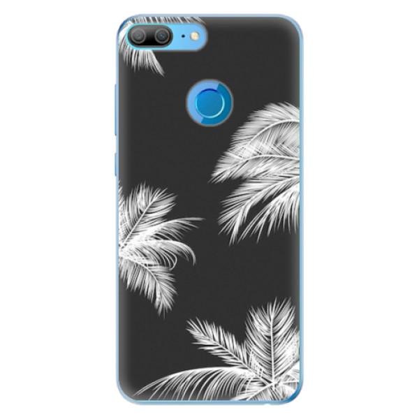 Odolné silikonové pouzdro iSaprio - White Palm - Huawei Honor 9 Lite