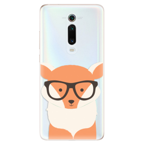 Odolné silikonové pouzdro iSaprio - Orange Fox - Xiaomi Mi 9T Pro