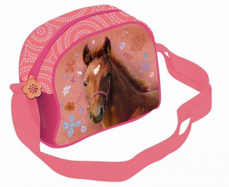 Taška přes rameno Nice and Pretty kůň, 19 x 16 cm