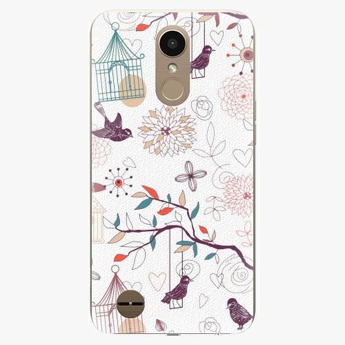 Plastový kryt iSaprio - Birds - LG K10 2017