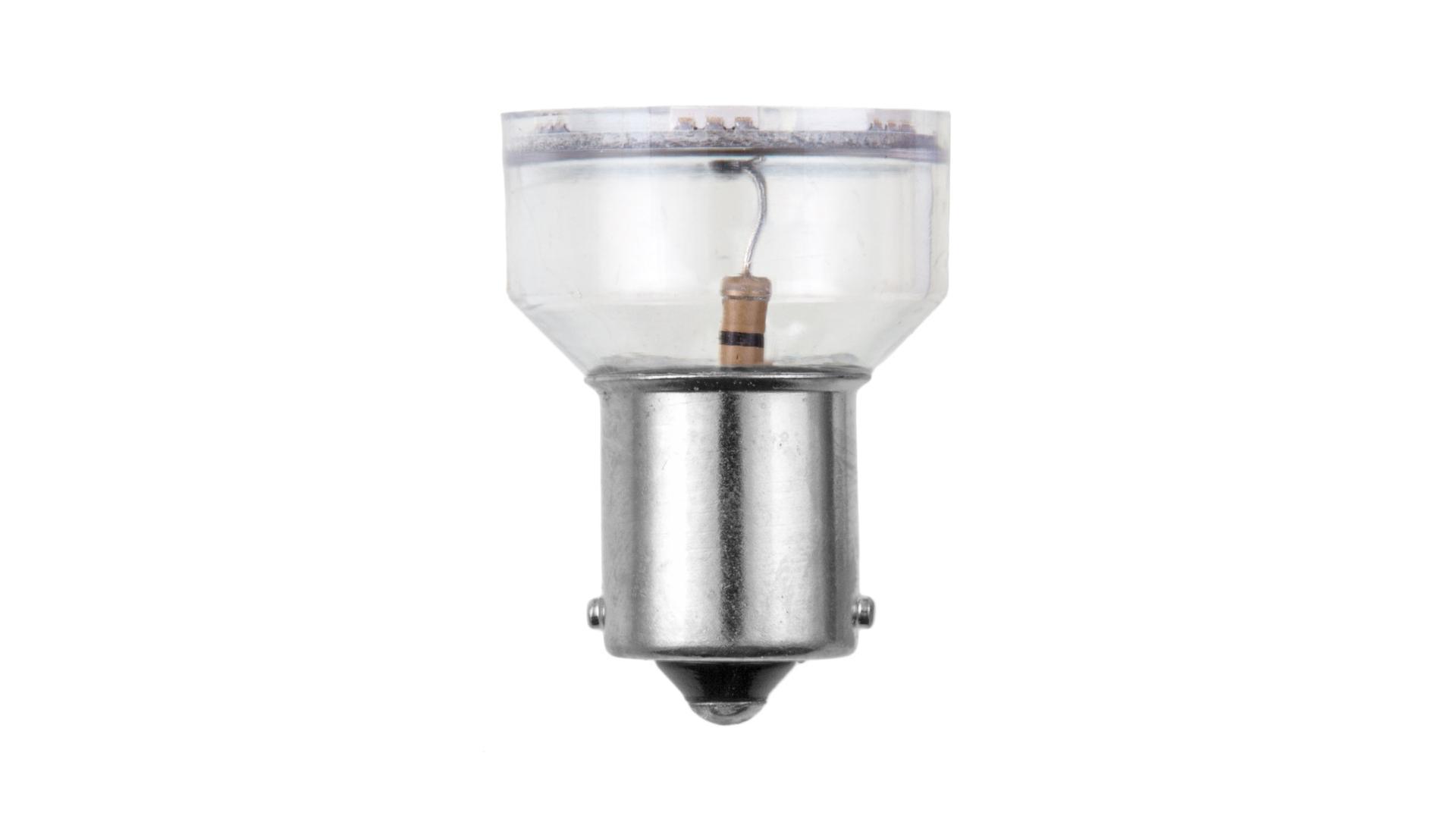 4CARS LED žárovka 6LED 12V S25-5050SMD BA15S červená