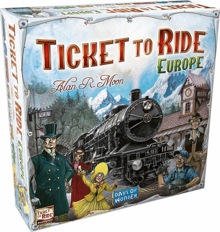ADC HRA Ticket to Ride: Evropa