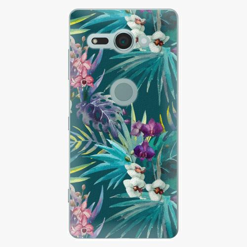 Plastový kryt iSaprio - Tropical Blue 01 - Sony Xperia XZ2 Compact