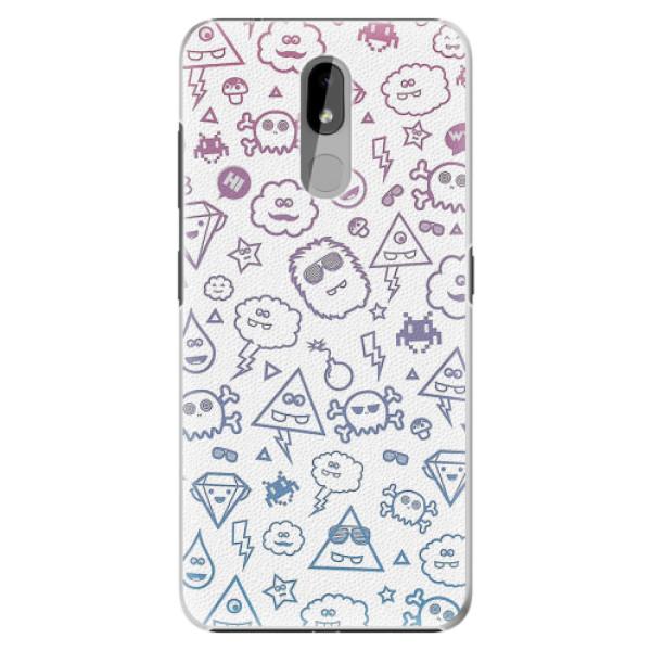 Plastové pouzdro iSaprio - Funny Clouds - Nokia 3.2