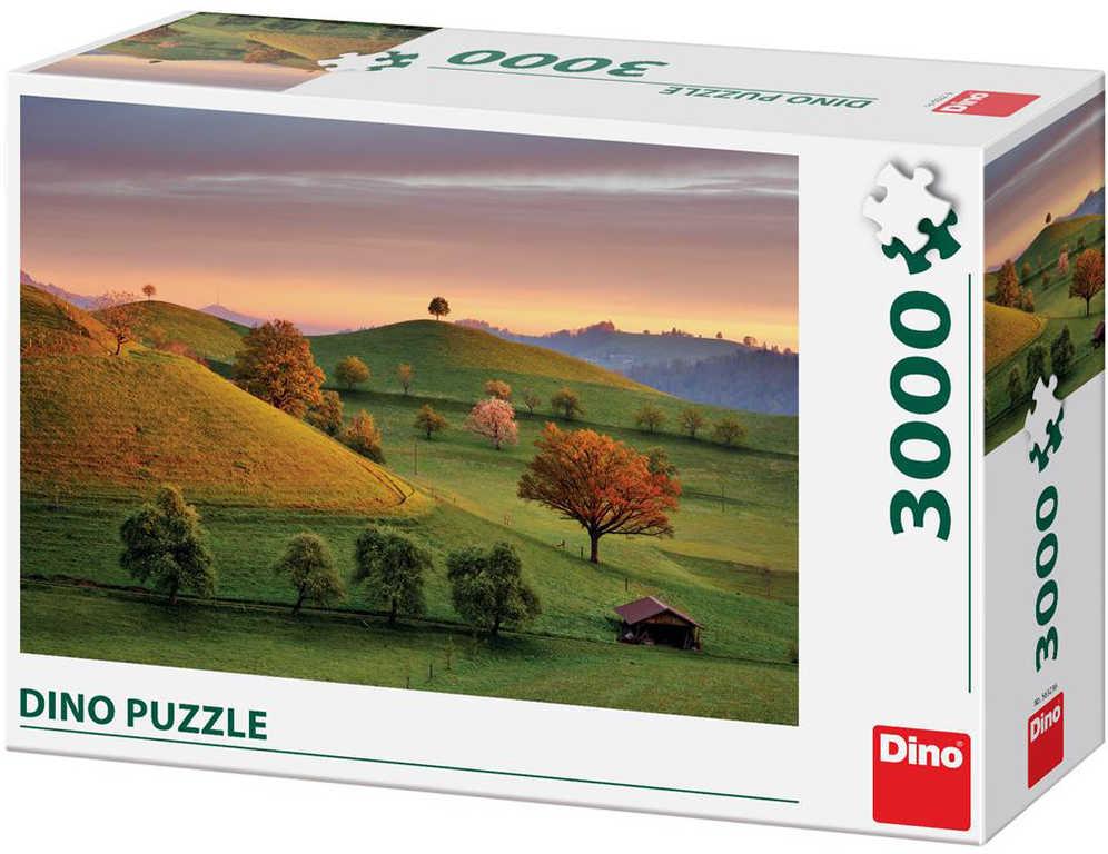 DINO Puzzle Pohádkový východ slunce 3000 dílků skládačka 117x84cm