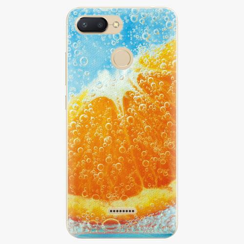 Silikonové pouzdro iSaprio - Orange Water - Xiaomi Redmi 6