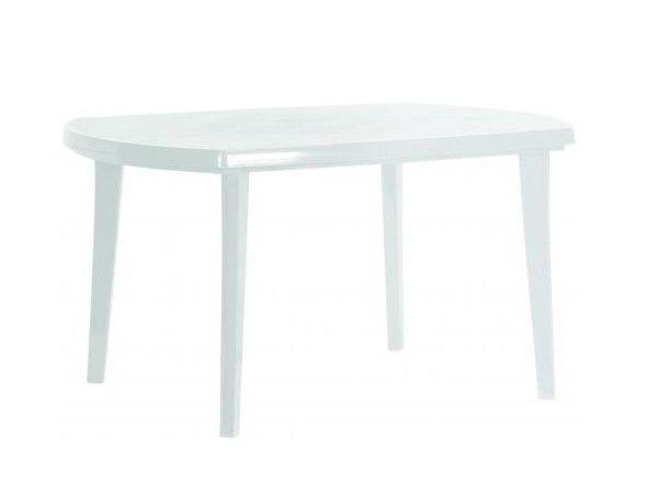 Zahradní plastový stůl ELISE bílý