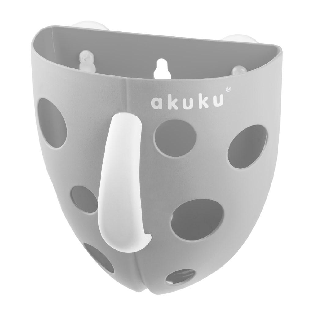 Plastový box na hračky do vany Akuku
