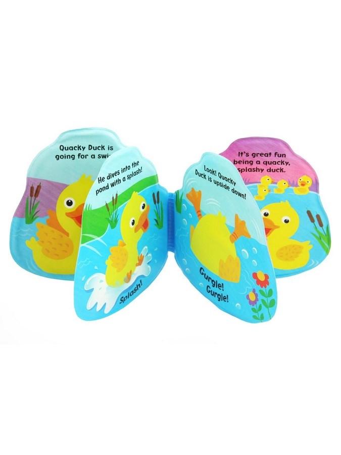 Dětská pískací knížka do vody Baby Mix kačenka - dle obrázku
