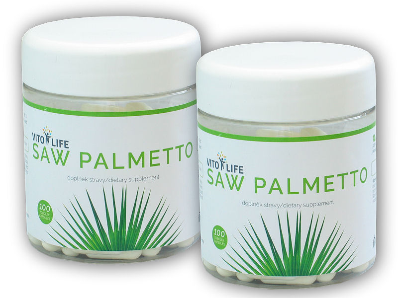 2x Saw Palmetto 100 kapslí