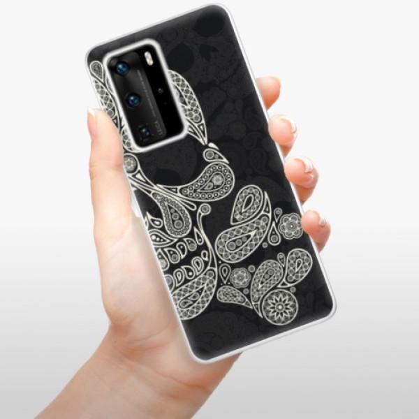 Odolné silikonové pouzdro iSaprio - Mayan Skull - Huawei P40 Pro