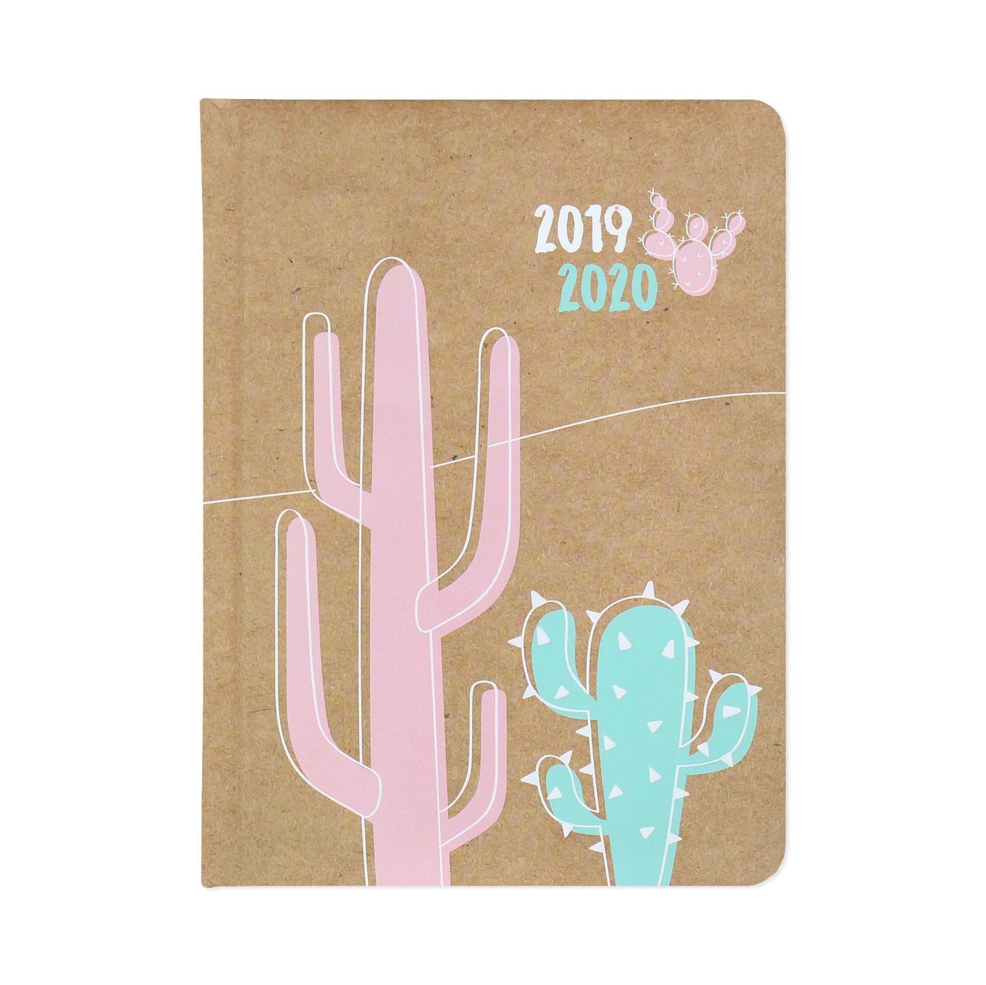 18 měsíční diář - Kaktus