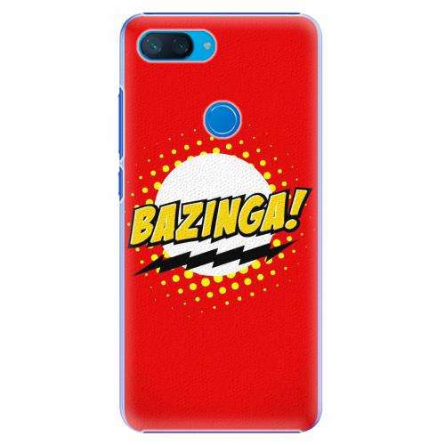 Plastový kryt iSaprio - Bazinga 01 - Xiaomi Mi 8 Lite