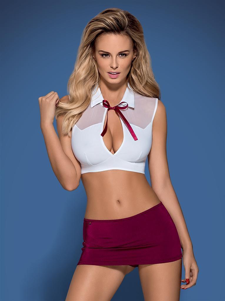 Erotický kostým Obsessive Student model 46183 - Original - S - M