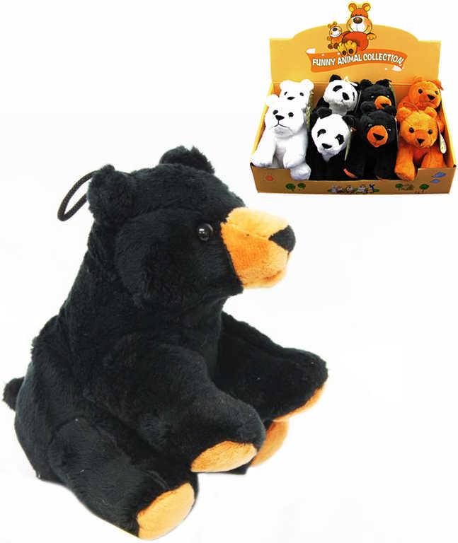 PLYŠ Medvídek 15 cm - 4 druhy
