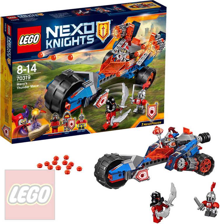LEGO NEXO Knights Macyin hromový palcát STAVEBNICE 70319