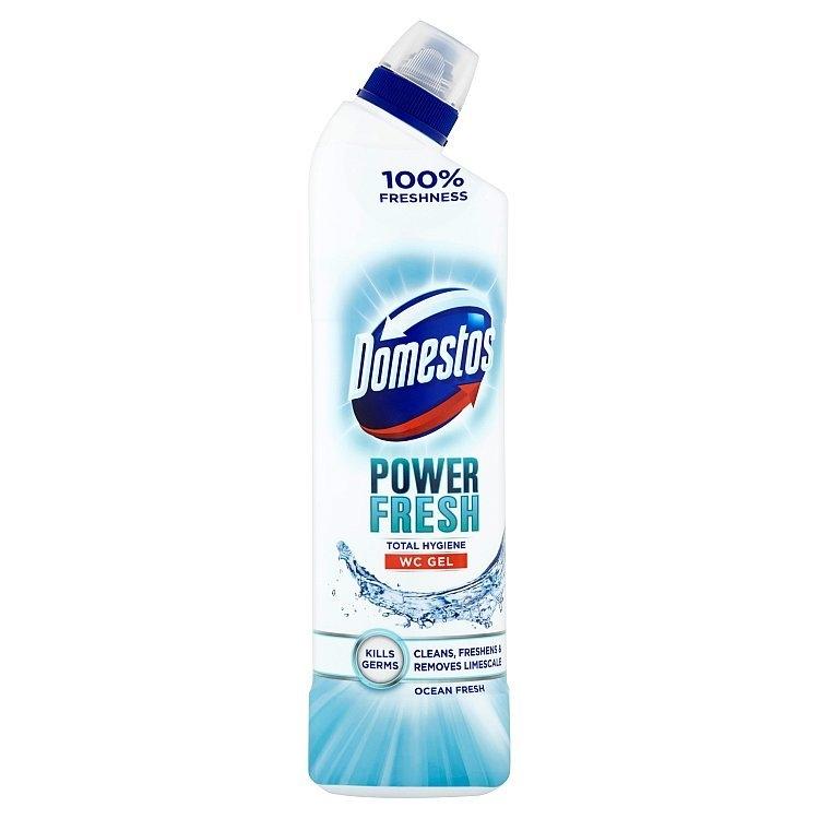 Total Hygiene Ocean Fresh WC desinfekční gel 700 ml