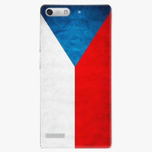 Plastový kryt iSaprio - Czech Flag - Huawei Ascend G6