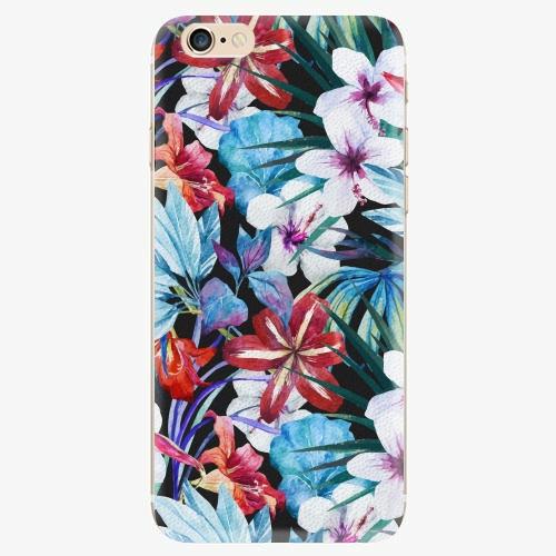 Silikonové pouzdro iSaprio - Tropical Flowers 05 - iPhone 6/6S