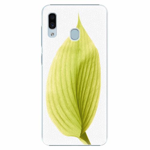 Plastový kryt iSaprio - Green Leaf - Samsung Galaxy A30