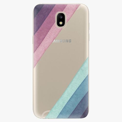 Silikonové pouzdro iSaprio - Glitter Stripes 01 - Samsung Galaxy J5 2017