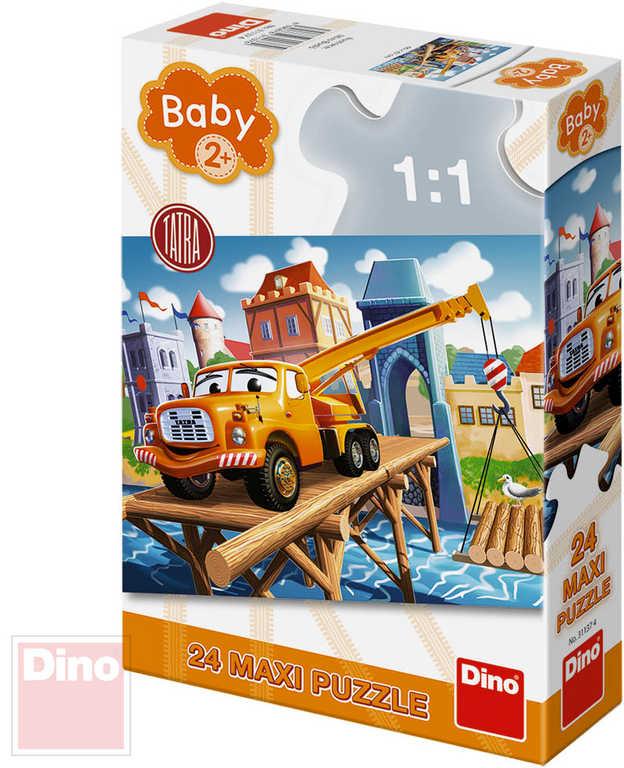 DINO Baby Puzzle 24 dílků Tatra maxi 66x47cm skládačka velké dílky