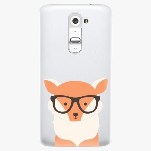 Plastový kryt iSaprio - Orange Fox - LG G2 (D802B)
