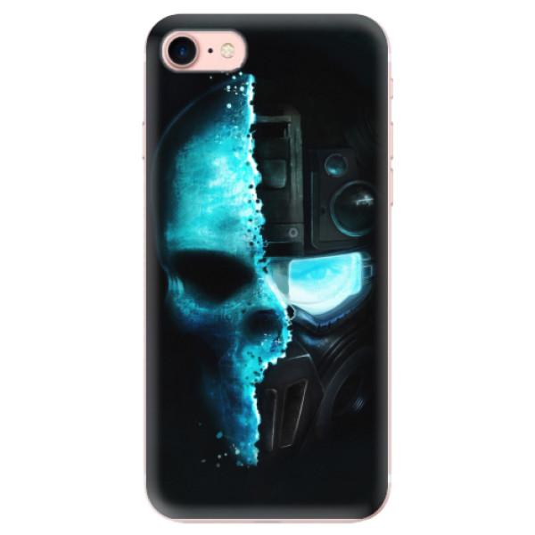 Odolné silikonové pouzdro iSaprio - Roboskull - iPhone 7