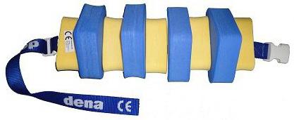 MATUŠKA-DENA Pás plavecký 60cm modro-žlutý