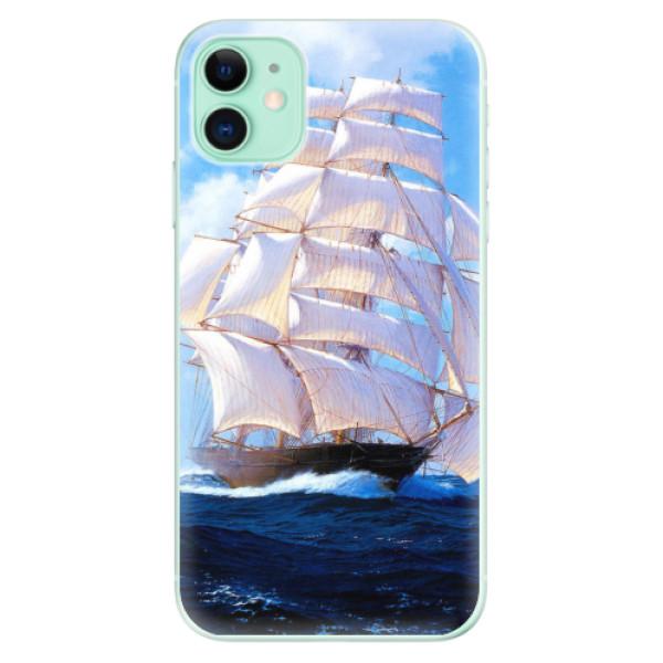 Odolné silikonové pouzdro iSaprio - Sailing Boat - iPhone 11