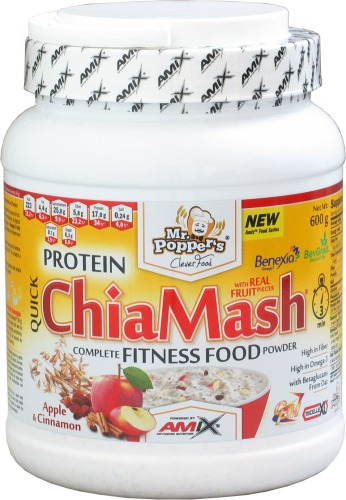Protein ChiaMash - 600g-pineapple-coconut