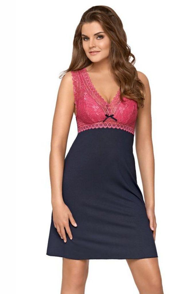 Noční košile Larisa pink - L