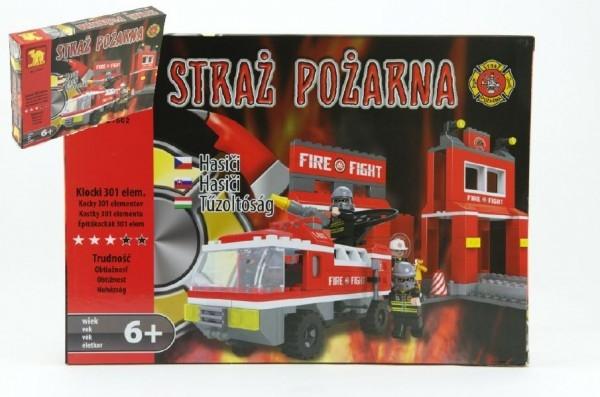 stavebnice-dromader-hasici-auto-21602-301ks-v-krabici-35x25x5-5cm