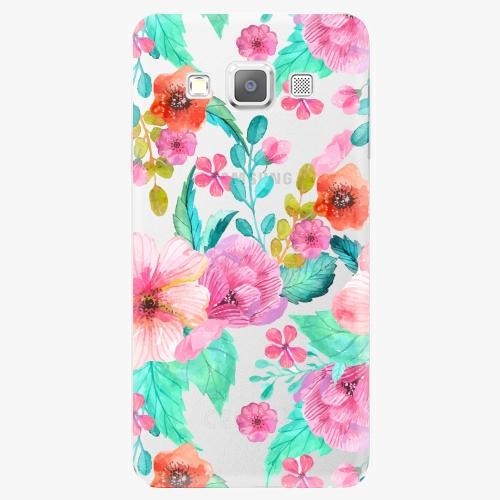 Plastový kryt iSaprio - Flower Pattern 01 - Samsung Galaxy A3